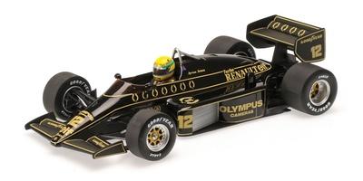 Lotus 97T nº 12 Ayrton Senna (1985) Minichamps 1/18