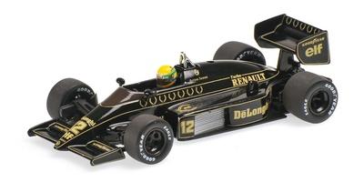 Lotus 98T nº 12 Ayrton Senna (1986) Minichamps 1:43