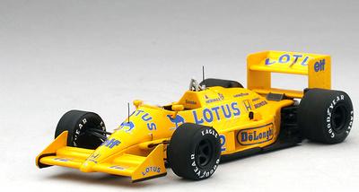 "Lotus 99T ""GP. Gran Bretaña"" n° 12 Ayrton Senna (1987) TSM 1/43"
