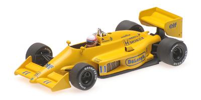 "Lotus 99T Honda ""GP. Mónaco"" nº 11 Satoru Nakajima (1987) Minichamps 1:43"