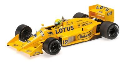 Lotus 99T nº12 Ayrton Senna (1987) Minichamps 1:18