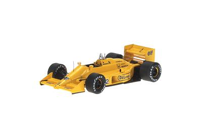 "Lotus 99TB ""GP. Japón"" nº 12 Ayrton Senna (1987) Reve 1/43"