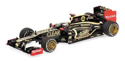 "Lotus E20 ""GP. Barein"" nº 9 Kimi Raikkonen (2012) Minichamps 1/43"