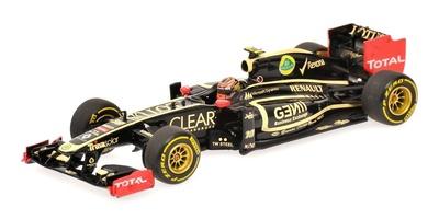"Lotus E20 ""Showcar"" nº 10 Romain Grosjean (2012) Minichamps 1/43"