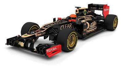 Lotus E20 nº 10 Romain Grosjean (2012) Corgi 1/43