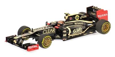 Lotus E20 nº 10 Romain Grosjean (2012) Minichamps 1/43