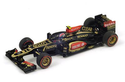 "Lotus E21 ""2º GP. USA"" Romain Grosjean (2013) Spark 1:43"