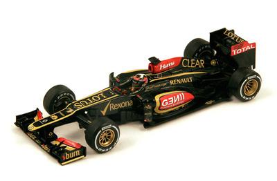"""Lotus E21 """"GP. Australia"""" nº 7 Kimi Raikkonen (2013) Spark 1:43"""