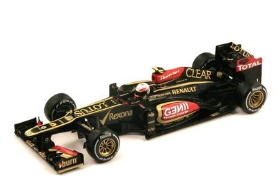 """Lotus E21 """"GP. Australia"""" nº 8 Romain Grosjean (2013) Spark 1:18"""