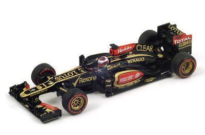 """Lotus E21 """"GP. USA"""" Heikki Kovalainen (2013) Spark 1:43"""