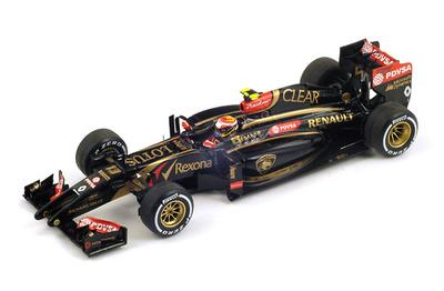 """Lotus E22 """"GP. Malasia"""" nº 13 Pastor Maldonado (2014) Spark S3090 1:43"""