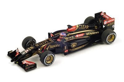 """Lotus E22 """"GP. Malasia"""" nº 8 Romain Grosjean (2014) Spark 1:43"""