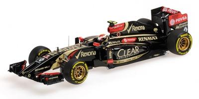Lotus F1 E22 nº 13 Pastor Maldonado (2014) Minichamps 1:43