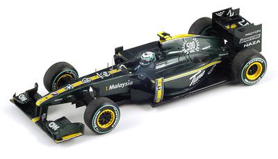 "Lotus T127 ""GP. Europa"" nº 19 Heikki Kovalainen (2010) Spark 1/43"