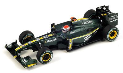 """Lotus T127 """"GP. Mónaco"""" nº 18 Jarno Trulli (2010) Spark 1/43"""