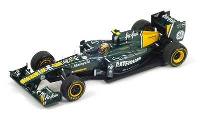 "Lotus T128 ""GP. Alemania"" nº 21 Karun Chandhok (2011) Spark 1/43"
