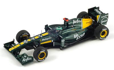 "Lotus T128 ""GP. China"" nº 20 Heikki Kovalainen (2011) Spark 1/43"