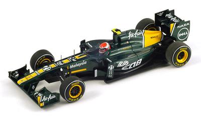 "Lotus T128 ""GP. China"" nº 21 Jarno Trulli (2011) Spark 1/43"