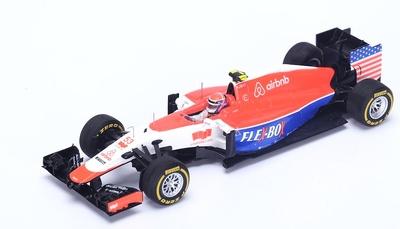 "Manor Marussia MR03B ""GP. USA"" nº 53 Alexander Rossi (2015) Spark 1:43"