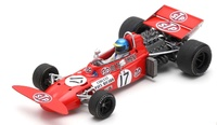 "March 711 ""GP. Francia"" nº 17 Ronnie Peterson (1971) Spark 1/43"