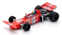 "March 711 ""GP. Mónaco"" n° 17 Ronnie Peterson (1971) Spark 1:43"
