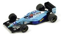 "March CG911 ""GP. Portugal"" nº 17 Emanuele Naspetti (1992) Spark 1/43"