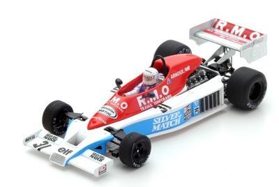 "Martini Mk23 ""GP. Francia"" nº 31 René Arnoux (1978) Spark 1:43"