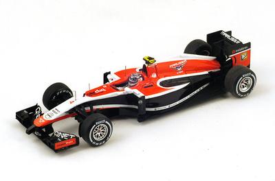 """Marussia MR03 """"GP. Malasia"""" nº 4 Max Chilton (2014) Spark 1:43"""