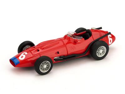 """Maserati 250F 12 cil. """"GP. Italia"""" 1957 nº 6 Jean Behra (1957) Brumm 1/43"""