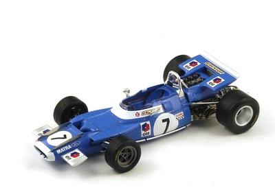 "MatraMS80""GP. Francia"" nº 7 Jean PierreBeltoise(1969) Spark 1:18"