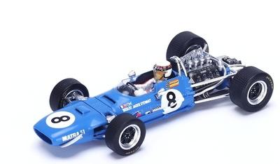 "Matra MS10 ""1º GP. Holanda"" nº 8 Jackie Stewart (1968) Spark 1:43"