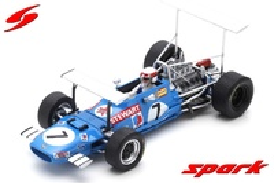 "Matra MS10 ""1º GP. Sudáfrica"" nº 7 Jackie Stewart (1969)  Spark 1/43"