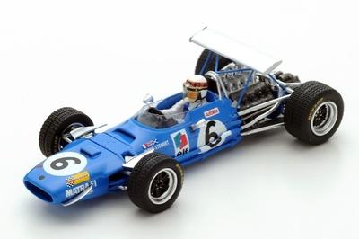 "Matra MS10 ""GP. Alemania"" nº 6 Jackie Stewart  (1968) Spark 1:43"