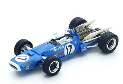 "Matra MS11 ""GP. Holanda"" nº 17  Jean-Pierre Beltoise (1968) Spark 1:43"