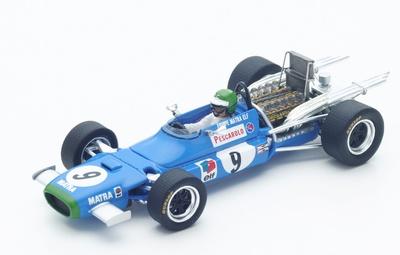 "Matra MS11 ""GP. México"" nº 9 Henri Pescarolo (1968) Spark 1/43"
