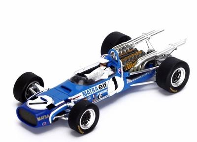 "Matra MS11 ""GP. Mónaco"" nº 1 Jean-Pierre Beltoise (1968)  Spark 1:43"
