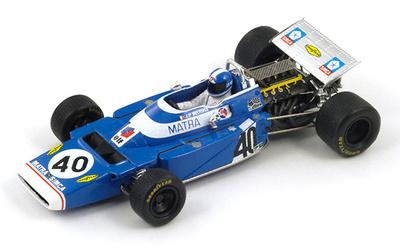 "Matra MS120 ""3º GP Italia"" nº 40 Jean Pierre Beltoise (1970) Spark 1/43"