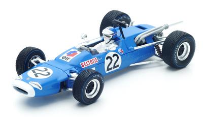 "Matra MS7 ""GP. México"" n°22 Jean-Pierre Beltoise (1967) Spark 1:43"