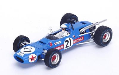 "Matra MS7 ""GP. Sudáfrica"" nº 21 Jean-Pierre Beltoise (1968) Spark 1:43"