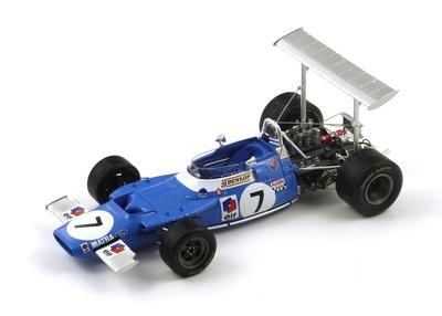 "Matra MS80 ""1º GP. España"" nº 7 Jackie Stewart (1969) Spark 1:18"