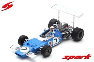 "Matra MS80 ""1º GP. España"" nº 7 Jackie Stewart (1969) Spark 1/43"