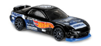 Mazda RX7 -Speed Graphics- (1995) Hot Wheels 1/64