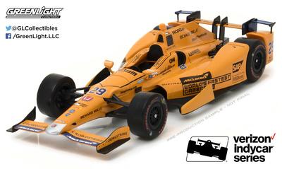 "McLaren Honda Andretti ""500 Millas Indianapolis"" nº 29 Fernando Alonso (2017) Greenlight 1/18"