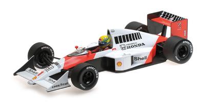 McLaren Honda MP4/5 nº 1 Ayrton Senna (1989) Minichamps 1:18