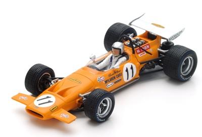 "McLaren M14A ""2º GP. España"" nº 11 Bruce McLaren (1970) Spark 1:43"