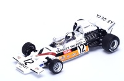 "McLaren M19A ""1º GP. Sudafrica"" n°12 Denis Hulme (1972) Spark 1:43"