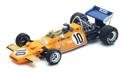 "McLaren M19A ""GP. Francia"" nº 10 Peter Gethin (1971) Spark 1/43"