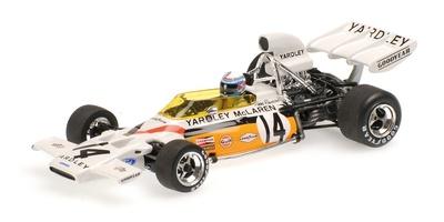 "McLaren M19A ""GP. Sudáfrica"" nº 14 Peter Revson (1972) Minichamps 1:43"