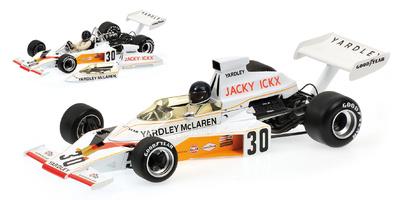 "McLaren M23 ""GP. Alemania"" nº 30 Jacky Ickx (1973) Minichamps 1:18"