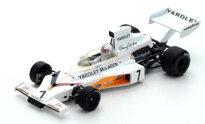 "McLaren M23 ""GP. Suecia"" nº 7 Denis Hulme (1973) Spark 1:43"
